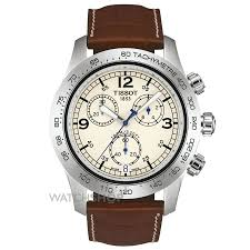 "men s tissot v8 chronograph watch t36131672 watch shop comâ""¢ mens tissot v8 chronograph watch t36131672"