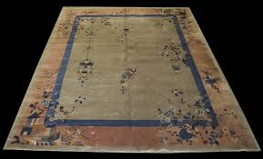 antique chinese art deco rug 9 x 11 7