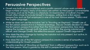 i often wondered whether any of the others grasped ppt video  12 persuasive perspectives