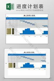 Gantt Chart Excel Template Xls Construction Schedule Plan Gantt Chart Excel Template