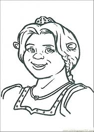 Small Picture Fiona Ogre Coloring Page Free Shrek Coloring Pages
