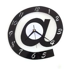large office clocks. Office Wall Clocks Large Backdrop Acrylic Stereoscopic Clock Creative Designer Art Sticker Quiet G