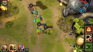 game moba mirip dota di android offline youtube