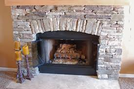 Awesome Wood Burning Fireplace Kit Awesome Indoor Stone Fireplace Kits  Outdoor Wood Burning
