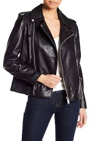 image of w118 by walter baker liza moto leather jacket