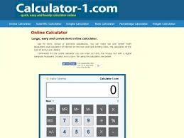 Calculator 1 Calculator 1 Com Use Simple And Easy Free Online