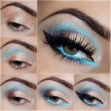 enchanting gold and cat eye makeup tutorial