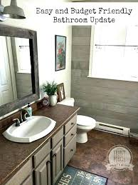 How To Remodel A Bathroom On A Budget Delectable Ideas Bathroom Lighting Renovation Architecture Storage Update