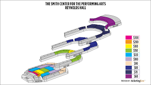 Smith Center Seating Chart Vegas Seating Chart