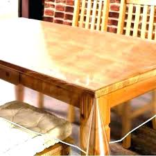 Protective Table Pads Dining Room Tables Gorgeous Acrylic Table Top Protector Hard Plastic R Clear Glass Heidejackson