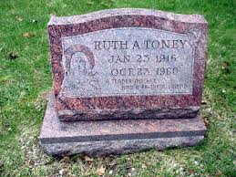Ruth Alfreda Zandarski Toney (1916-1960) - Find A Grave Memorial