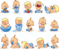 cartoon baby funny vector free vector