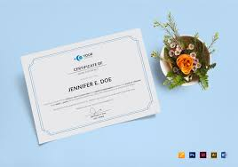 Another Word For Work Experience Work Experience Certificate Template In Psd Word Illustrator