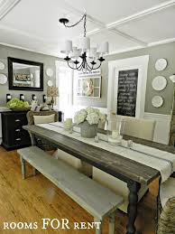 We should make a bench for our dining table @m66w12 !! I love this