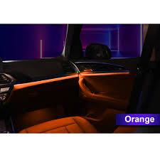 Bmw F10 Ambient Interior Lighting 3 Color Led Ambient Lights For Bmw F10 F11 Car Interior Door Cups Led Atmosphere Light Set Decorative Lamp Upgrade