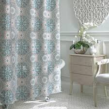 bathroom magnificent dillards shower curtains turquoise shower liner mandala shower curtain extra long white fabric shower