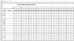 workout excel templates workout excel spreadsheet on how to make a spreadsheet free