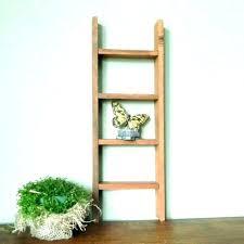 antique ladder shelf rustic bookshelf bookcase appealing collection wooden