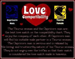 Love Compatibility Capricorn Male Taurus Female