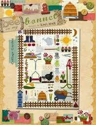 Cottage Garden Quilt Pattern by Lori Holt | Chicken coop ideas ... & Cottage Garden Quilt Pattern by Lori Holt Adamdwight.com