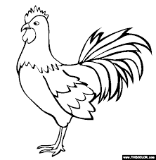 Farm Animals Online Coloring Pages Page 1