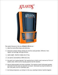 Vending Machine Wattage Best Atlantis Tea Coffee Machine Micro At Rs 48 Unit Coffee Vending