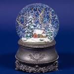 Снежный шар с домиком