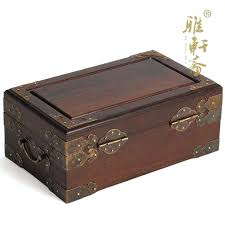 antique jewelry box hardware rosewood wooden double layer wood small wedding gifts with lock special