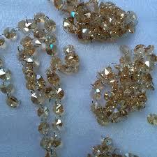 10m lot crystal garland k9 crystal handing stranded 14mm octagonal glass crystal strands