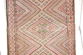 hand woven vintage zaiane moroccan tribal runner rug circa 1960 for