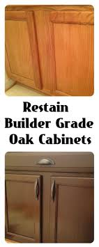 Kitchen Cupboard 17 Best Ideas About Gel Stain Cabinets On Pinterest Staining