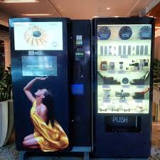 Beverly Hills Caviar Vending Machine Inspiration The Mall Fish Machines Now I Know