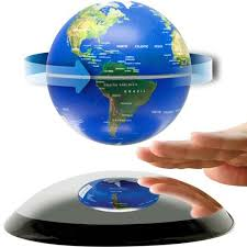 Magnetic Levitation Floating Globe World Map US/UK/ Plug Fashion Home  Decoration Christmas Gift