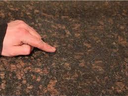 granite countertop seams surface
