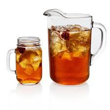 libbey country folk 7 piece sweet tea glass entertainment set