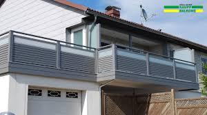Balkongel Nder Alu Ab 155 Kaupp Balkone Balkongelaender Alu