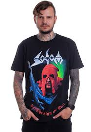 In The Shirt Sodom In The Sign Of Evil T Shirt Offizieller Metal