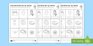 Phonics worksheets and online activities. Editable Find And Write The Oy Words Differentiated Worksheets