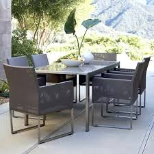 crate barrel outdoor furniture. Crate And Barrel Dining Room Table Outdoor Furniture Dune From I