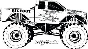 Grave Digger Color Pages Monster Trucks Coloring Pages For Boys