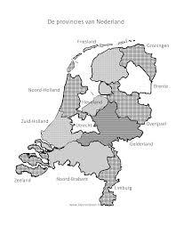 Provincies Nederland Kleuren Is Leuk