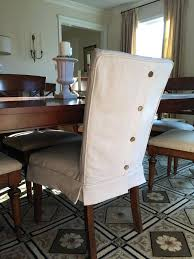 dining room chair slip covers leather parsons chairs parsons how to make dining room chair slipcovers