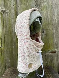 Pink Leo Hood - Nanuk Clothing