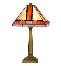 dale tiffany tt10090 mission table lamp undefined