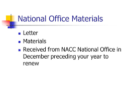 Nacc Renewal Of Certification Nacc Certification Commission
