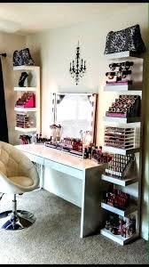 wall mounted makeup vanity home design ideas best makeup shelves ideas on makeup vanity magnetizing bedroom