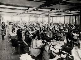 cws pelaw antique. Shirt Factory Workers Cws Pelaw Antique