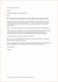 tenancy termination letter template. Termination Letter Format Rental Agreement Best Letter Template End