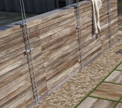 da vinci wood look tile in sienna