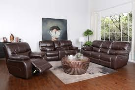 madrid leather gel manual reclining sofa loveseat set